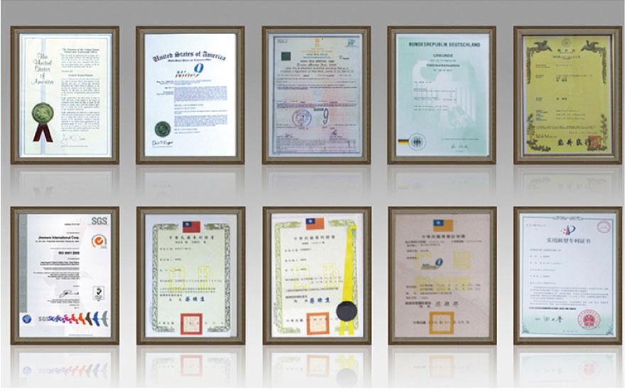 Certificate Patents
