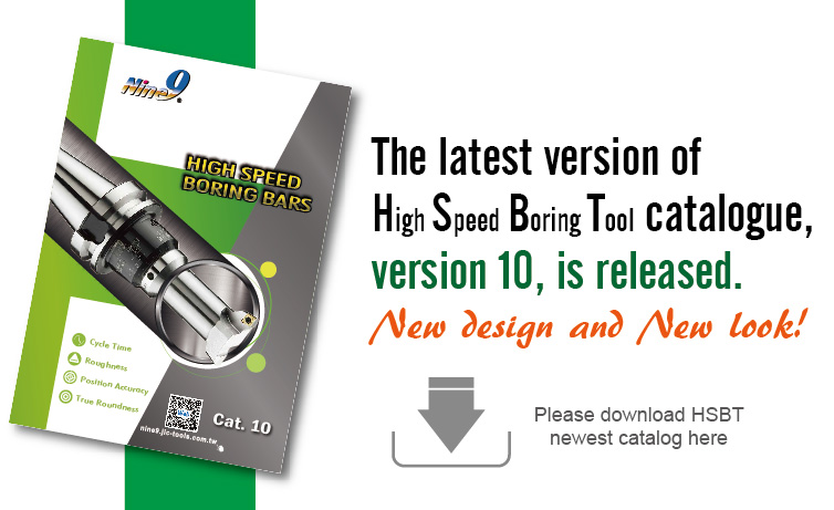 High Speed Boring Tool New Catalogue Released