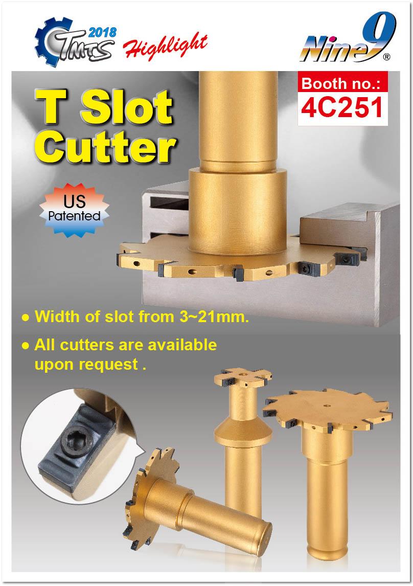 Nine9 T Slot Cutter