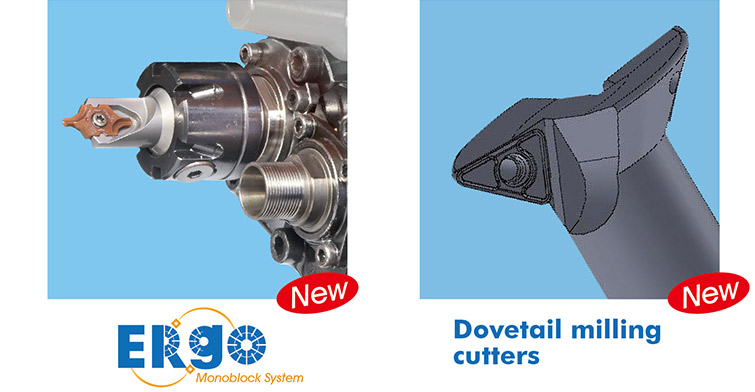 Nine9 ERgo and dovetail milling cutters in EMO 2019