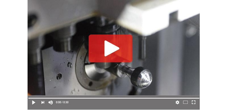 Testing Ergo Ø12 milling cutter on Swiss type - STAR SB-20R type G