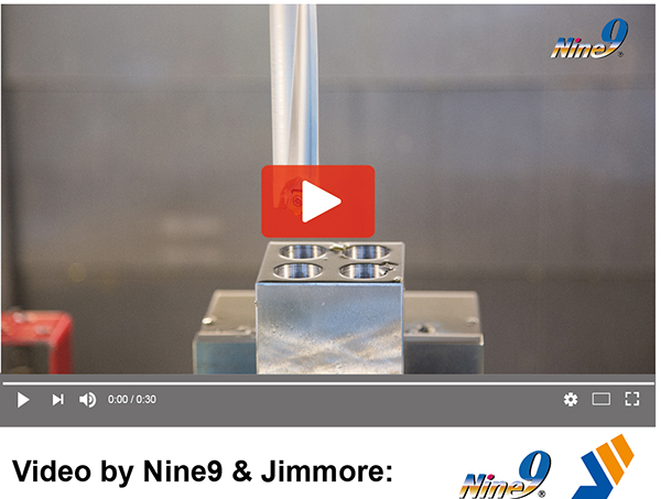 Nine9 12d indexable Drill with Fine straightness
