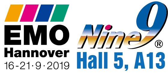 Nine9 cutting tools will be in EMO Hannover 2019