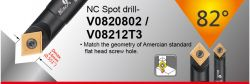 82 Degree NC Spot Drill - spotting diameter 9~14mm