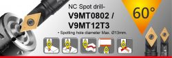 60 Degree NC Spot Drill - spotting diameter 1~13mm