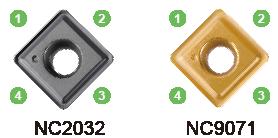 Nine9 chamfering countersink carbide inserts