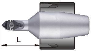 60 & 90 deg deburring tools for collet chuck
