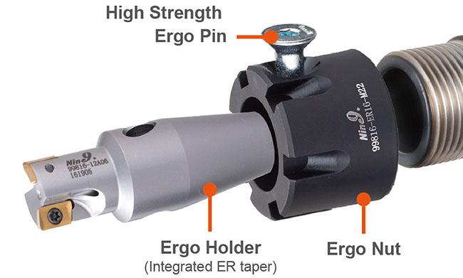 Ergo Monoblock cutter_ER16 12mm milling cutter