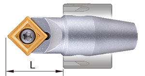 90 deg integrated chamfering tool