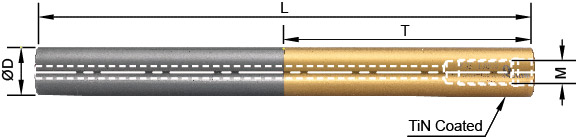 Solid Carbide - Anti-vibration extension bar