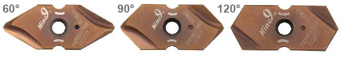Spot and countersink carbide insert