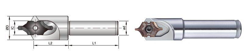 Nine9 center drill holder_ic08