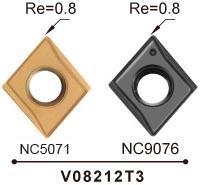 Nine-9 82 deg carbide spotting chamfering insert_depth 14
