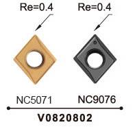Nine9 82 deg spotting carbide insert_depth 9