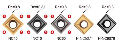 90 deg spotting chamfering engraving grooving multi-function carbide insert