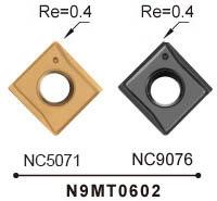 Nine9 carbide insert_n9mt0602