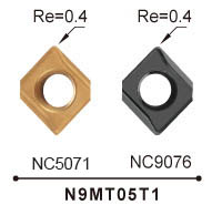 Nine9 carbide insert_n9mt05t1